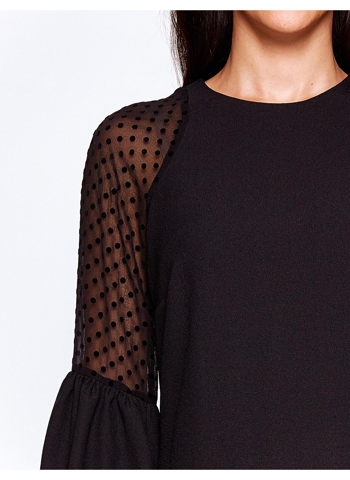 Koton Siyah Mini Elbise
